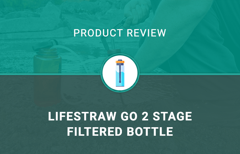 LifeStraw Go 2 Stage Filtered Bottle