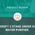 Ecosoft 3 Stage Under Sink Water Purifier Filtration System